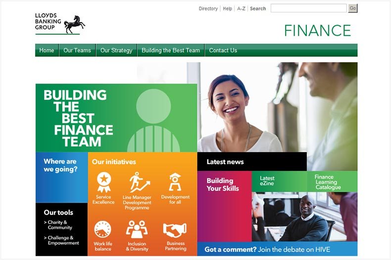 Lloyds Banking Group Finance Community